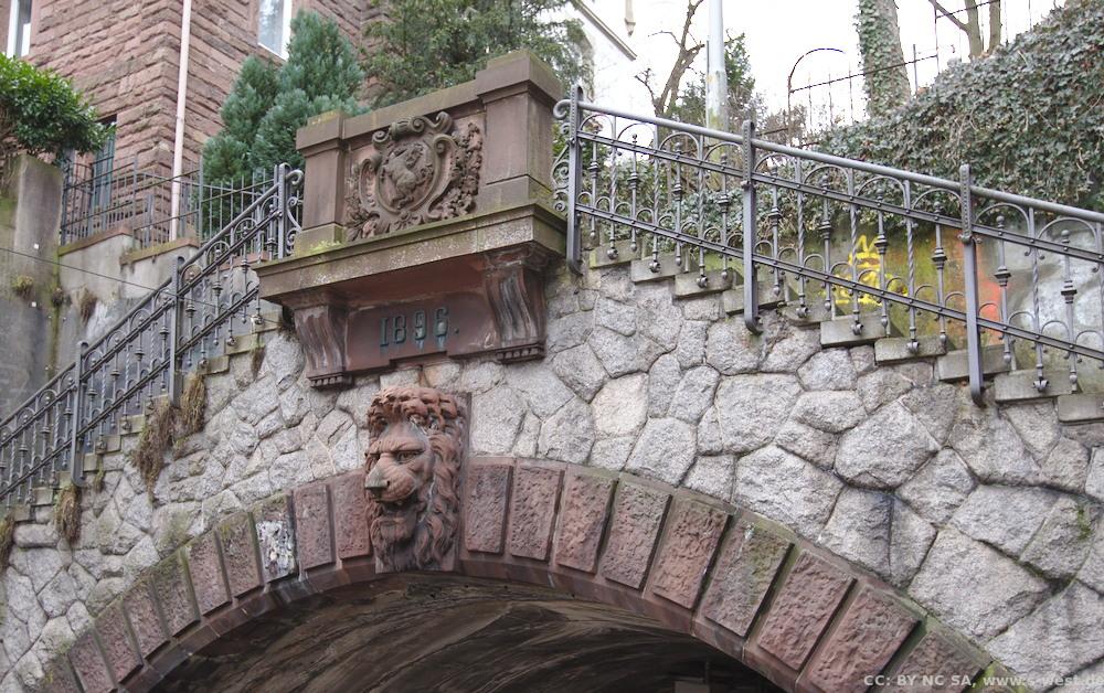 Löwe über dem Schwabtunnel